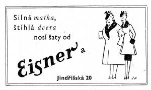 Silná matka, štíhlá dcera, nosí šaty od Eisnera