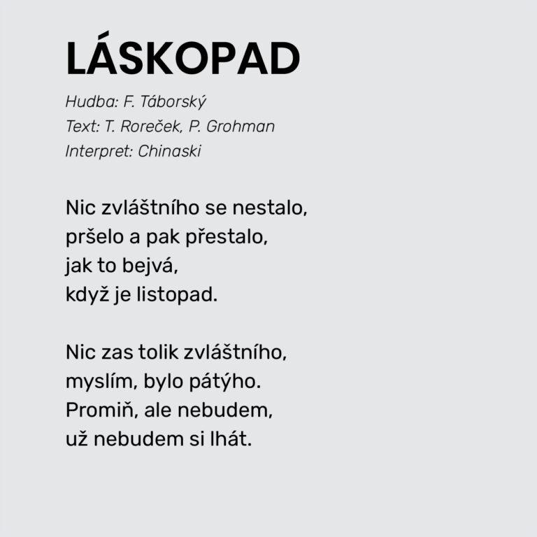 LÁSKOPAD
