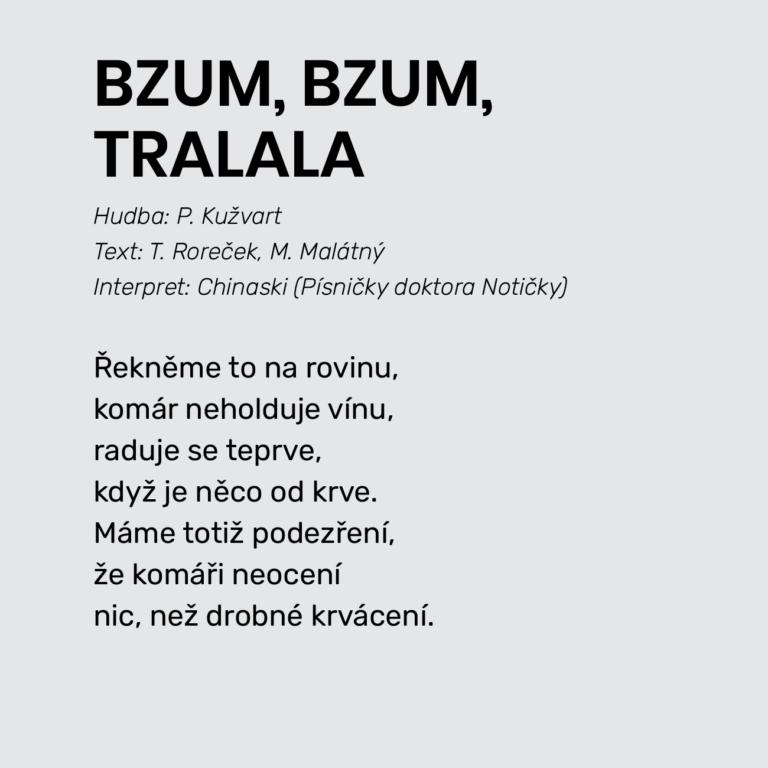 BZUM, BZUM, TRALALA