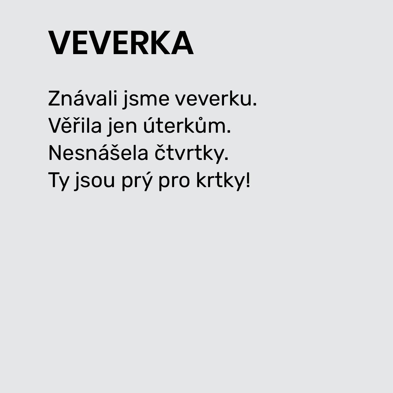 VEVERKA