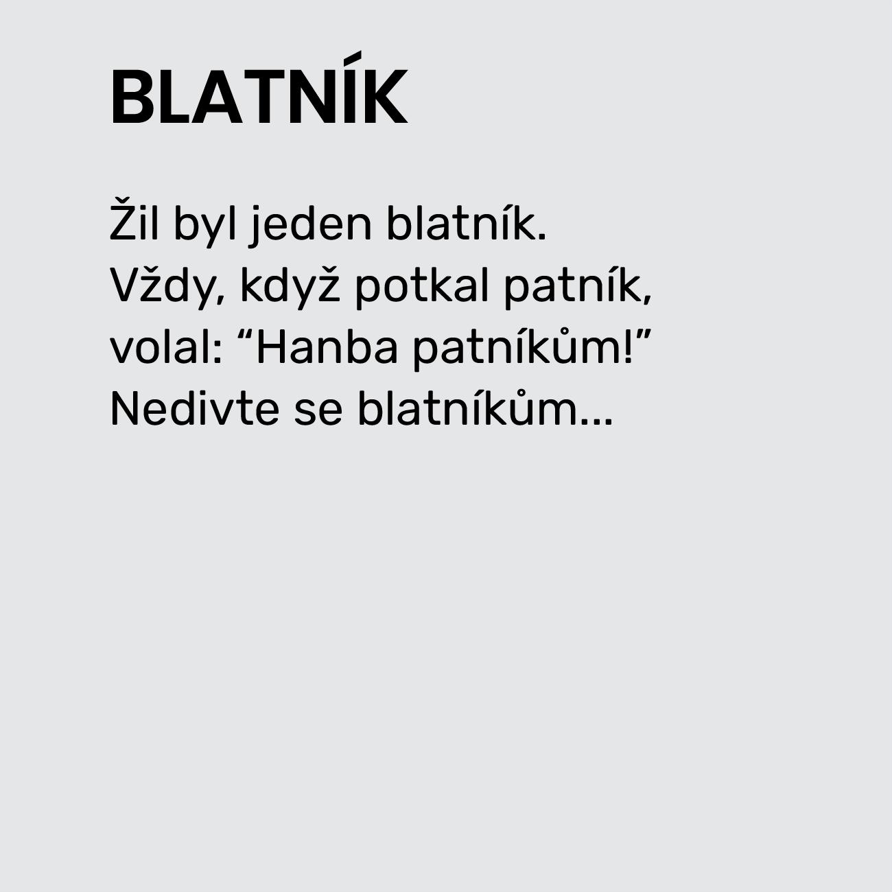 BLATNÍK