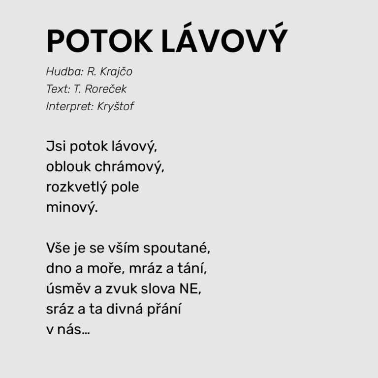POTOK LÁVOVÝ