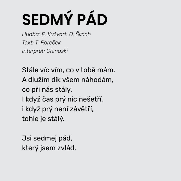 SEDMÝ PÁD