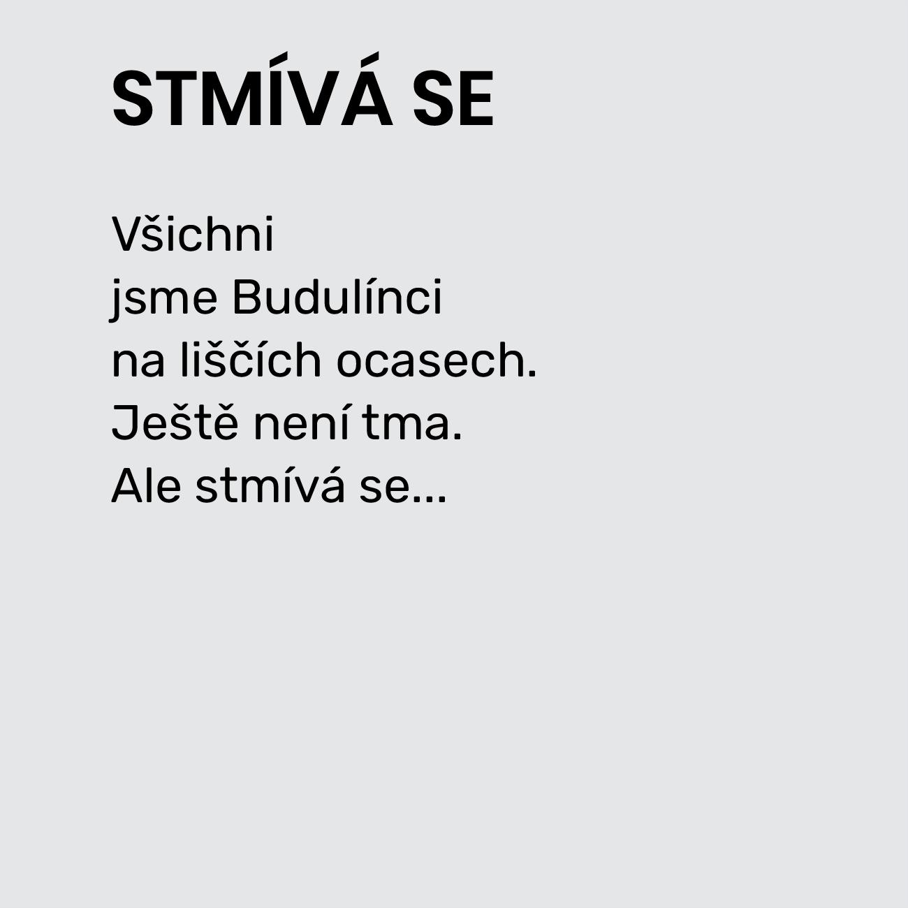 STMÍVÁ SE