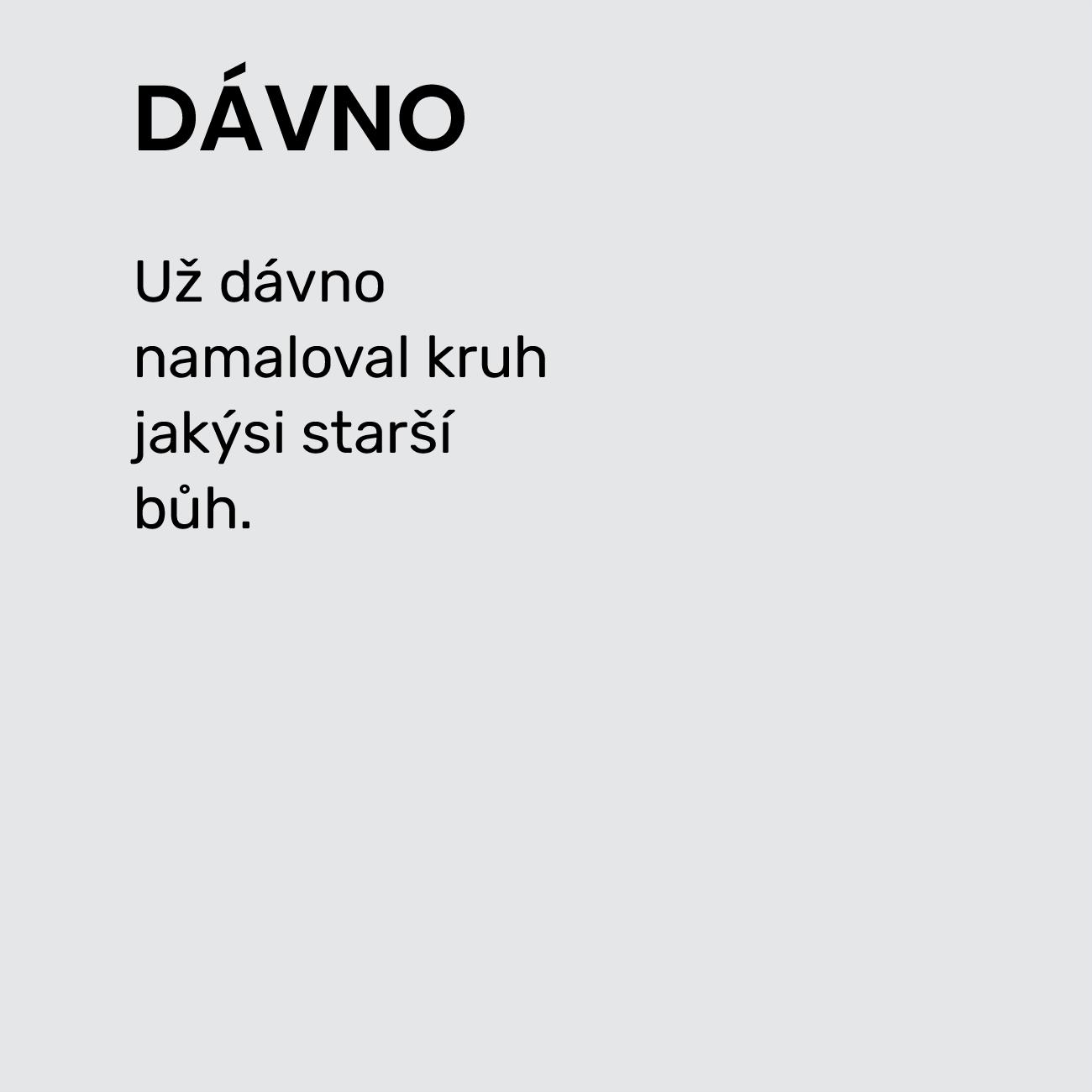 DÁVNO