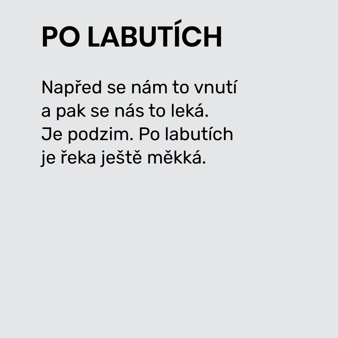 PO LABUTÍCH