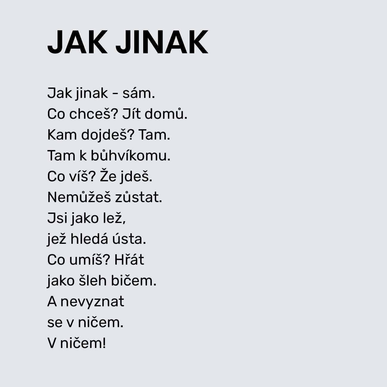 JAK JINAK